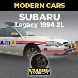 SUBARU LEGACY 1994 2L SNOW TYRES - SOUND EFFECTS