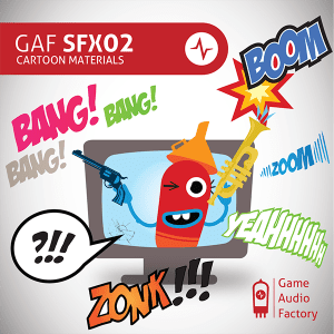 GAF SFX02 - CARTOON - Cover600x600