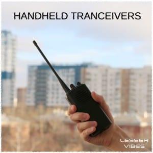 Lesser Vibes - Handheld Tranceivers