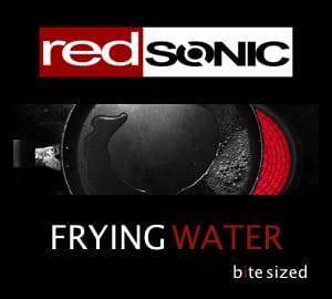 frying water